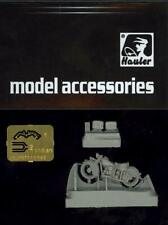 Hauler Models 1/87 1940 INDIAN FOUR 4-CYLINDER MOTORCYCLE Resin & Photo Etch Kit