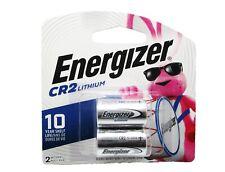 2 Pk Energizer CR2  EL1CRBP-2 3-Volt Lithium Photo Batteries - Exp. 2028