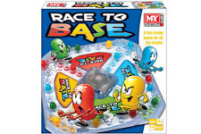 RACE TO BASE - TY571 STRATEGY CLASSIC 2-4 PLAYER FUN FAMILY RACING BOARD GAME
