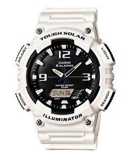 Casio New AQ-S810WC-7 White Digital Analog Mens Watch Tough Solar Alarm AQ-S810