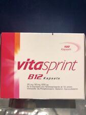 Vitasprint Vitamine B12 100 Gélules Énergie Fatigue 04909552