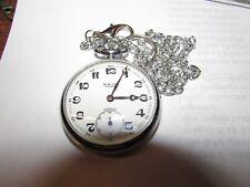 Rais orologio ferrovie da tasca e catena