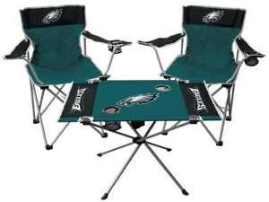 Philadelphia Eagles  3 Piece Tailgate Kit - 2 Chairs - 1 Table