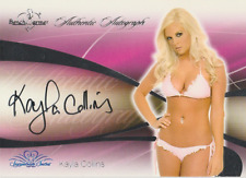 Kayla Collins 2008 Benchwarmer Signature Series autograph auto card 14