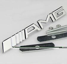 Für AMG Chrom 3D Auto Schriftzug Grill Frontgrill Emblem Plakette Badge DE WW