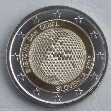 2 Euro Slowenien 2018 Weltbienentag unz.