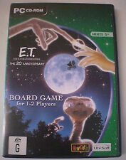 PC CD-ROM - E.T. THE 20th ANNIVERSARY BOARD GAME, COMPLETE, rare   5 + Years
