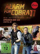 2 DVDs * ALARM FÜR COBRA 11 - STAFFEL 39 - EPISODEN 309 - 315 # NEU OVP §