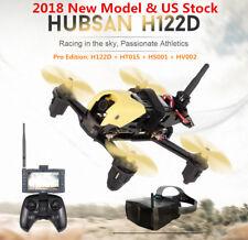 Hubsan H122D X4 STORM 5.8G FPV Micro Racing Drone Quadcopter 720P Goggles US RTF