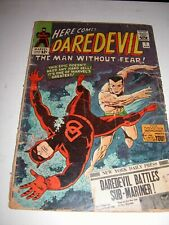 Here Comes Daredevil #7 Marvel Comics Marked 12 Cent Price