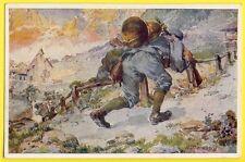 cpa Illustration Signée A. MARUSSIG OFFIZIELLE KARTE Fur rotes kreuz, kriegs