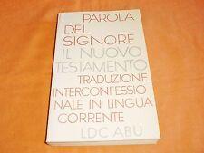 il nuovo testamento traduzione interconfessionale in lingua corrente 1995