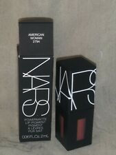 NIB NARS MINI/TRAVEL SIZE LIP POWERMATTE PIGMENT, AMERICAN WOMAN, 0.06 OZ / 2 ML