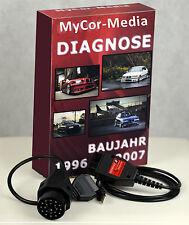 Diagnose für BMW KDIAG Pro OBD OBD2 INPA Rheingold ISTA NCS EXPERT Software APPS