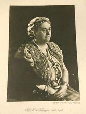 Koningin Wilhelmina 1898-1948 Kaart Merkelbach Gebr. Zomer & Keuning Wageningen