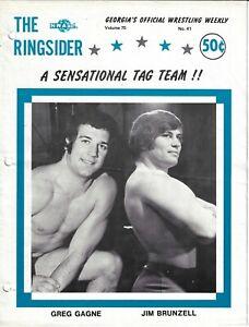 The Ringsider 1975 #41 Georgia Championship Wrestling Mr. Wrestling 2, Spoiler!
