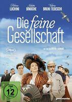 DIE FEINE GESELLSCHAFT (JULIETTE BINOCHE, FABRICE LUCHINI, ...)  DVD NEUF