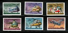 HELICOPTERS = AVIATION = Set of 6 = Russia 1980 #4828-33 MNH [qr11]