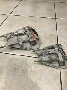 STAR WARS Hoth Snowspeeder Vehicles (LOOSE) Hasbro