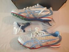 Asics Hyper Rocketgirl Sp 4 Track And Field Cleats Women'S 6 Blue White Cherry
