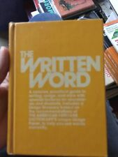 Vintage HC The Written Word Houghton Mifflin Reference