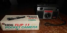 vintage original focal flip 11 in box and magimatic x-50 magicube cameras used
