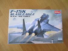 """ACADEMY 1:48 F-15K SLAM EAGLE """"R.O.K. AIR FORCE"""" MODEL KIT AEREO"""