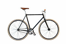 "WOO HOO BIKES - CLASSIC 19"" - Fixed Gear Bicycle, Fixie, One Gear, Track Bike"