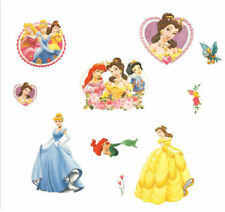 Disney Princess Wall Stickers Girls Room Art Decor Mural Decal Paper Baby Room