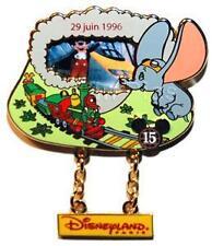 Disney Dlrp Through the Years Series 1996 Eurostar Dumbo & Mickey Mouse Pin