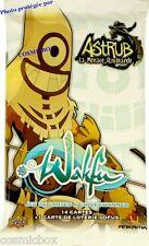 Booster de 15 cartes WAKFU DOFUS série ASTRUB La Menace Roublarde paquet cards