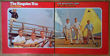KINGSTON TRIO - TOM DOOLEY & SCARLET RIBBONS - CAPITOL - 2 LP SET - RI