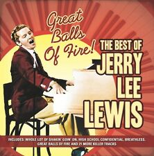 CD JERRY LEE LEWIS GREAT BALLS OF FIRE WHOLE LOTTA SHAKIN HIGH SCHOOL CONFIDENTI