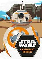 Star Wars Colouring By Numbers; Paperback Book; Lucasfilm, 9781405284783, EB287