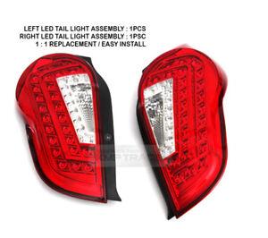 FULL LED Tail Light 1:1Replacement Rear Lamp Assy for CHEVROLET 2010-2015 Spark