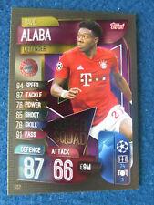 Sticker 216 TOPPS Bundesliga 2017//2018 David Alaba