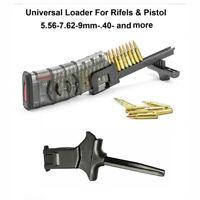 Universal Tactical Speed Loader for 9mm 22LR 380 .40 .45 Magazines Mag Loader