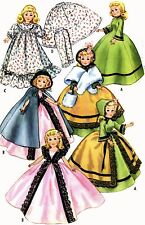 Vintage Doll Clothes Pattern 2397 for 20 inch Revlon Toni Sweet S