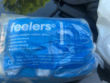 Feelers Medium Weight Rubber Gloves Size XL