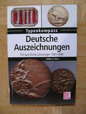 Deutsche Auszeichnungen für sportliche Leistungen 1921-1945 (Taschenbuch 2018)