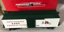 AMERICAN FLYER ~ 1995 Christmas Box Car ~ #6-48323