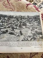 m11h ephemera 1916 ww1 picture exhausted germans taken in somme advance