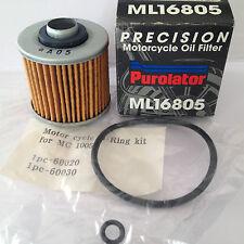 Filtro olio Yamaha Motorcycle Oil Filter Purolator ML16805 4X7-13440-90