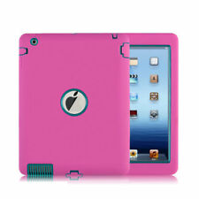 USA Shockproof Rugged Heavy Duty Armor Defender Hard Case Cover For Ipad 2/3/4