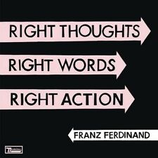FRANZ FERDINAND / RIGHT THOUGHTS, RIGHT WORDS, RIGHT ACTION * NEW 2CD'S * NEU