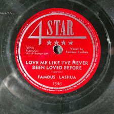 FAMOUS LASHUA Love Me Like I've Never Been Loved Before 4 STAR 1546 Rockabilly