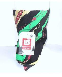 Burton Face Mask Scarf snowboard biker bandana green