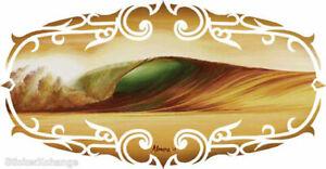 Indo Gold STICKER Decal Art Marco Almera Surfer MA80