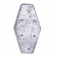 Sargblei Sechskantblei Hexagonblei Durchlaufblei Angelblei 150-200g mit Noppen