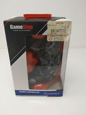 Playstation 3 PS3 Controller USB Wired GameStop Ed Transparent / Black
